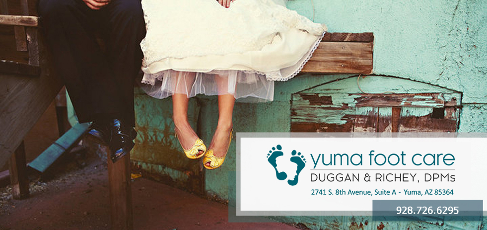 Yuma Foot Care | Duggan & Richey, DPMs. 1743 West 24th Street, Yuma, Arizona 85364. 928-726-6295